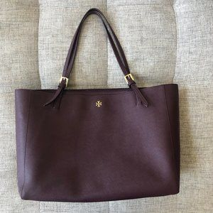 GREAT CONDITION TORY BURCH EMERSON BUCKLE TOTE LG